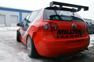 First VW Golf in BTCC for more than 20 years uses Milltek exhaust