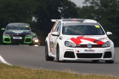 Top 10 Finish in VW Racing Cup at Snetterton